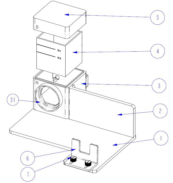 多功能测试组件结构