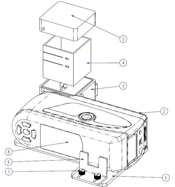 NH310色差仪与多功能测试组件的配合
