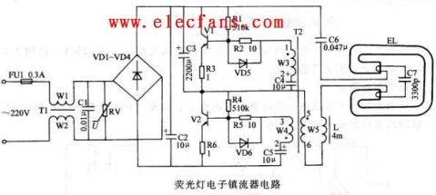 电子镇流器和超静荧光灯镇流器的差别