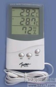 数显温湿度计 TA318 温湿度计 数字温湿度仪