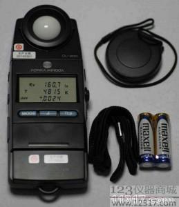 色温照度计 色温表 美能达CL-200A