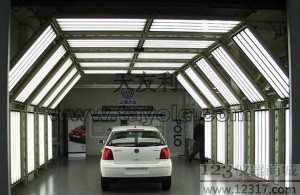 TAYOLE间(外观评定) 汽车喷涂工艺 汽车喷涂检测光源