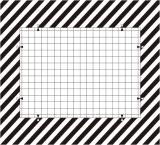 几何失真测试卡 - 畸变测试卡 - Distortion Test Chart